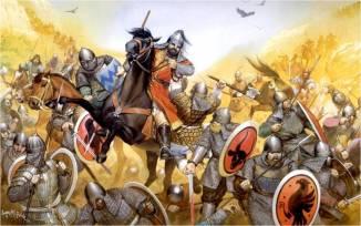 C'est en août 1071 qu'a lieu à proximité de la cité de Malazgirt la bataille de Manzikert, entre les Turcs Seldjoukides et les Byzantins. Cette bataille se solde par une lourde défaite de ces derniers, dont l'empereur Romain Diogène est capturé par le sultan Alp Arslan, et ouvre à terme les portes de l'Anatolie aux Turcs.